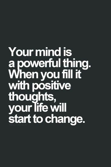 """If you haven't yet read """"The Secret"""" by Rhonda Byrne, I HIGHLY suggest you do so. Positivity is key!"""
