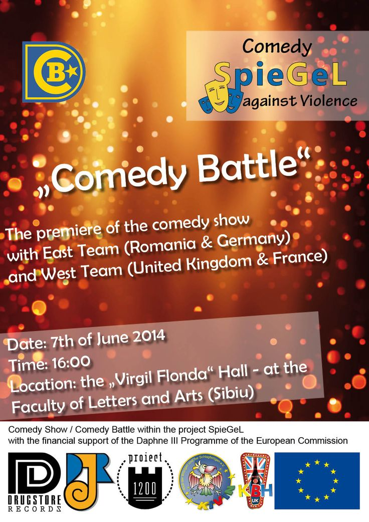COMEDY BATTLE IN ROMANIA / SIBIU