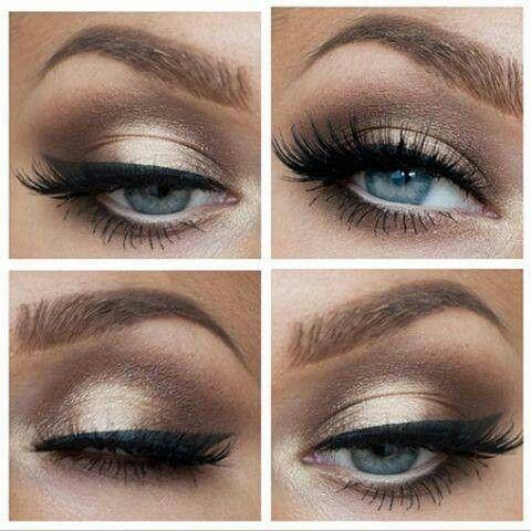 Greek Goddess Eye Makeup