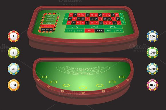 roulette table blackjack @creativework247