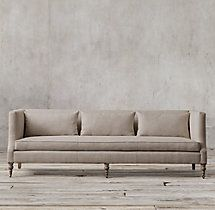 8' St. George Shelter Arm Sofa
