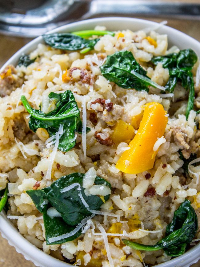 ... Risotto on Pinterest | Nutritional yeast, Parmesan risotto and Spanish