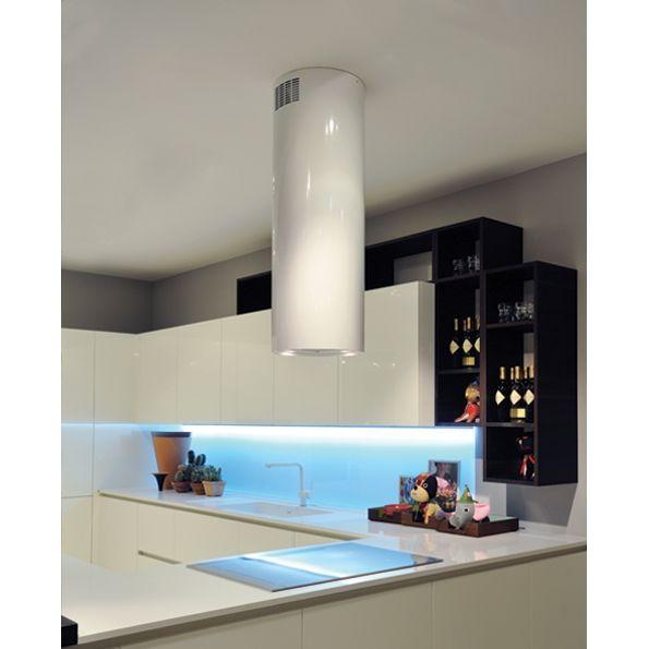 Polar White - Cappe Falmec - Cappe Moderne - Cappe aspiranti per cucina - Cappe di arredo in acciaio