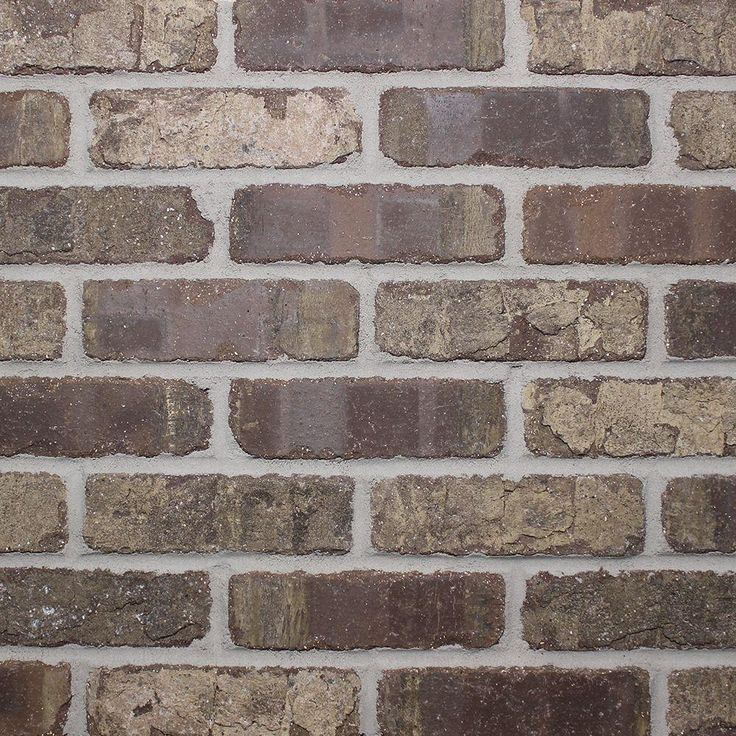 Old Mill Brick Brick Web Cafe Mocha 8.7 sq. ft. 10-1/2 in. x 28 in. x 1/2 in. Clay Thin Brick Flats (Box of 5)