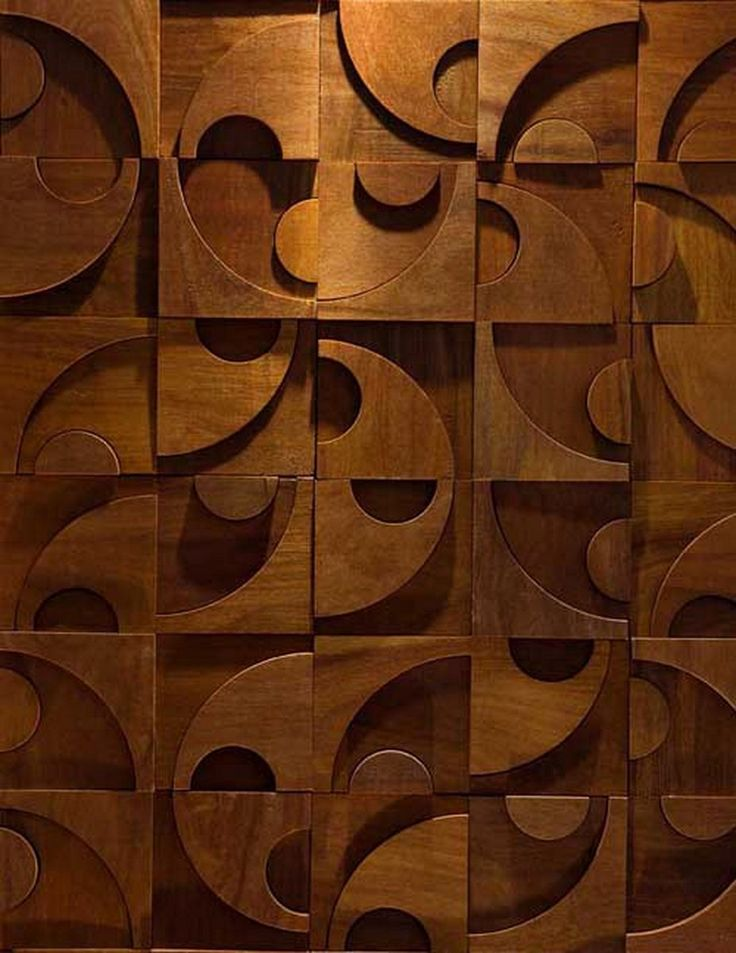 These are wood wall tiles For the