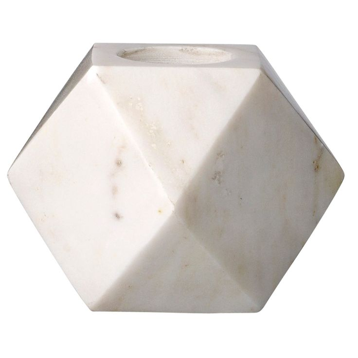 Marble Diamond candle holder – Bloomingville