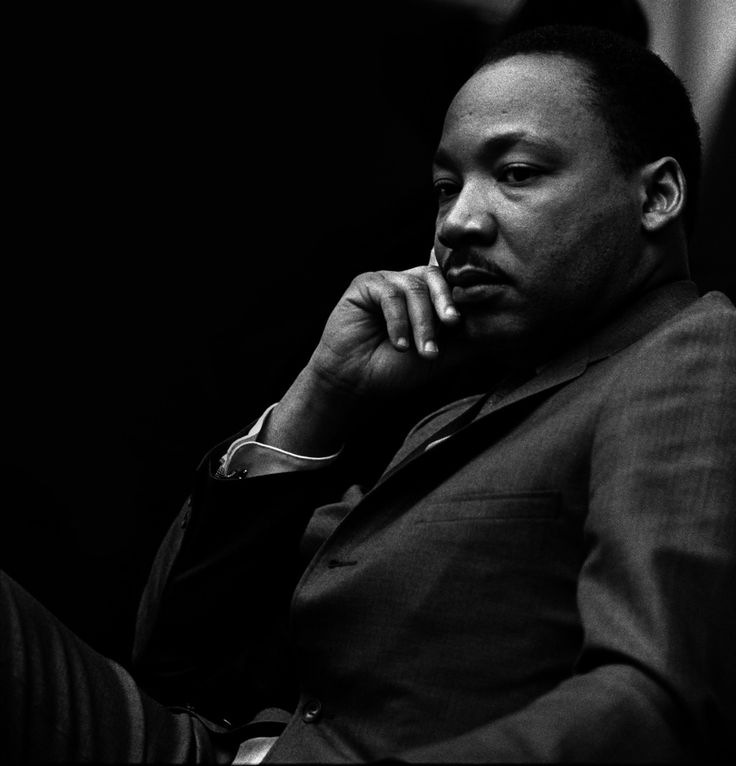 Martin Luther King, Jr. (1929 – 1968) was an American clergyman, activist, and prominent leader in the African-American Civil Rights Movement. He is best known for his role in the advancement of civil rights using nonviolent civil disobedience.  King has become a national icon in the history of American progressivism.