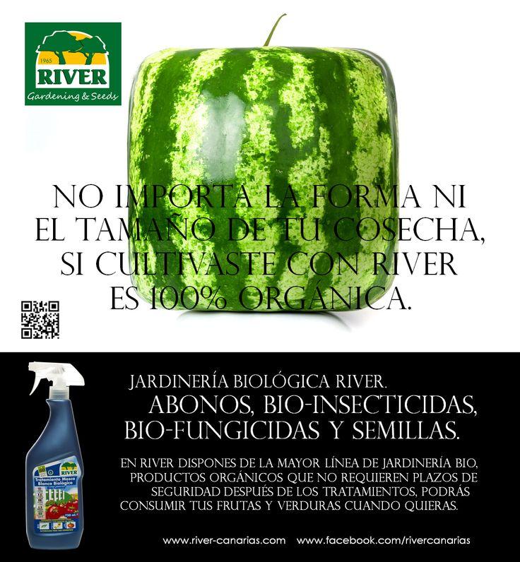 En RIVER encontrarás la mayor línea de Jardinería Biológica de España y Latinoamérica. www.river-canarias.com