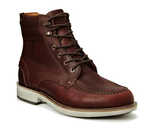 Ecco A/W brown leather lace boot