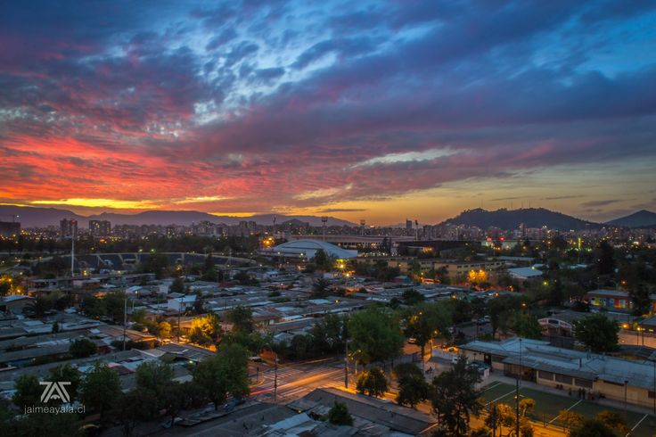 Photo Atardecer en Santiago by Jaime Ayala on 500px