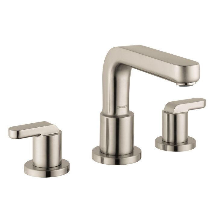Images On Hansgrohe Chrome Metris S Roman Tub Filler Faucet Non Diverter with Lever Handles