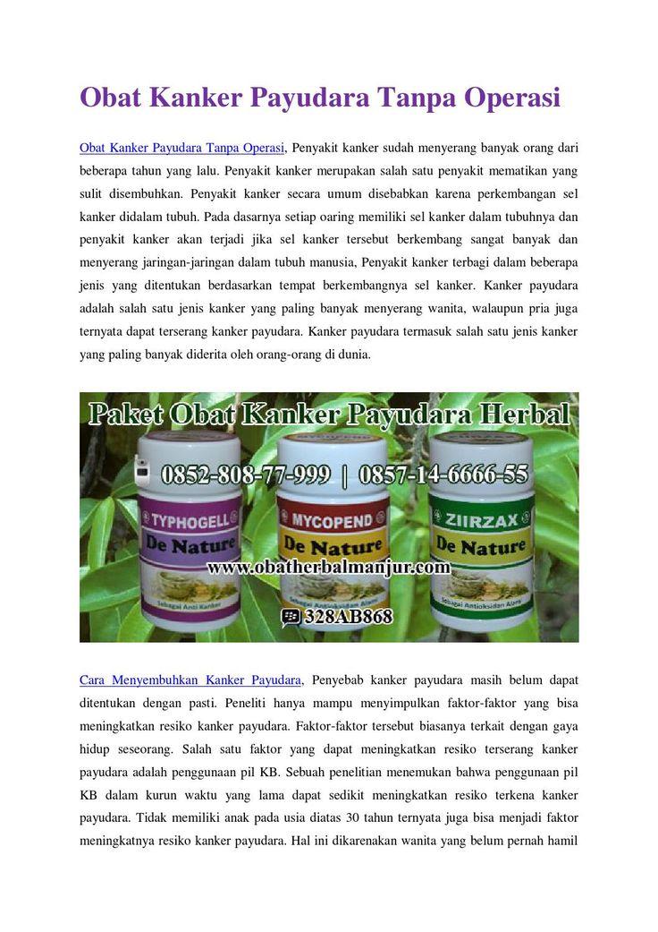 Obat kanker payudara tanpa operasi http://www.4shared.com/office/u5lXMJ9Uba/Jual_Obat_Kanker_Pyudara_Herba.html