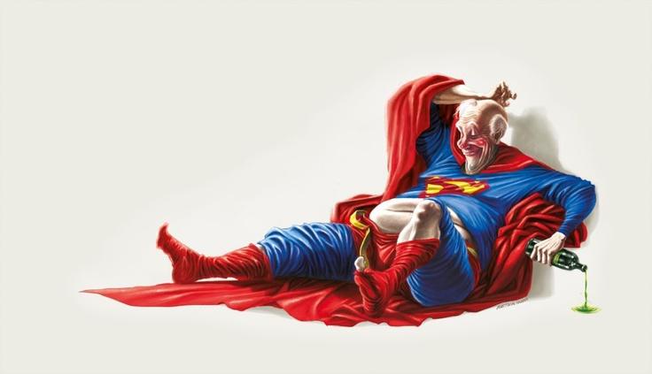 """They need a hero"" Superman"