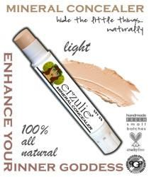Mineral Makeup Concealer Stick in LIGHT  Acne Safe Makeup Non-Comedogenic Makeup  Cream Concealer with Argan Oil  Natural and Organic on Etsy, $6.50