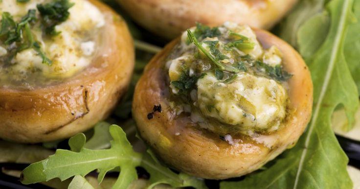 Recette - Champignons farcis au beurre d'escargot | Notée 4/5