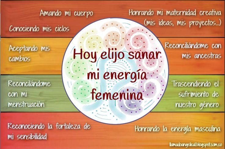 Afirmación Sanación   Energía Femenina
