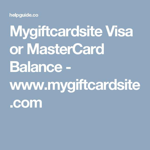 www.mygiftcardsite.com login