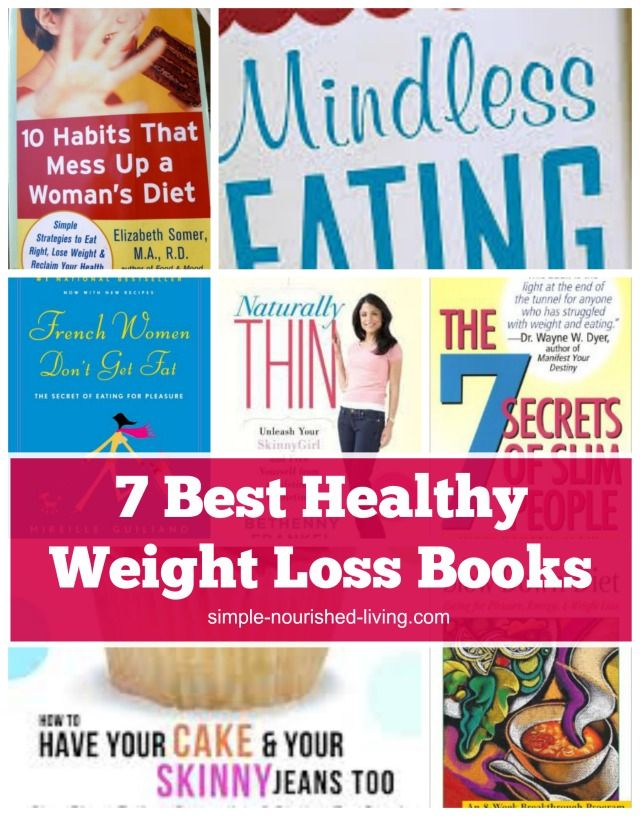 7 Best Healthy Weight Loss Books for Weight Watchers ...