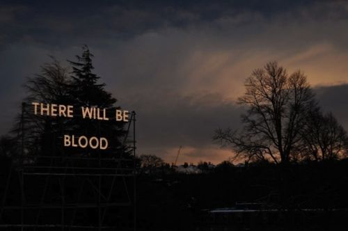 there will be blood - Nathan coley