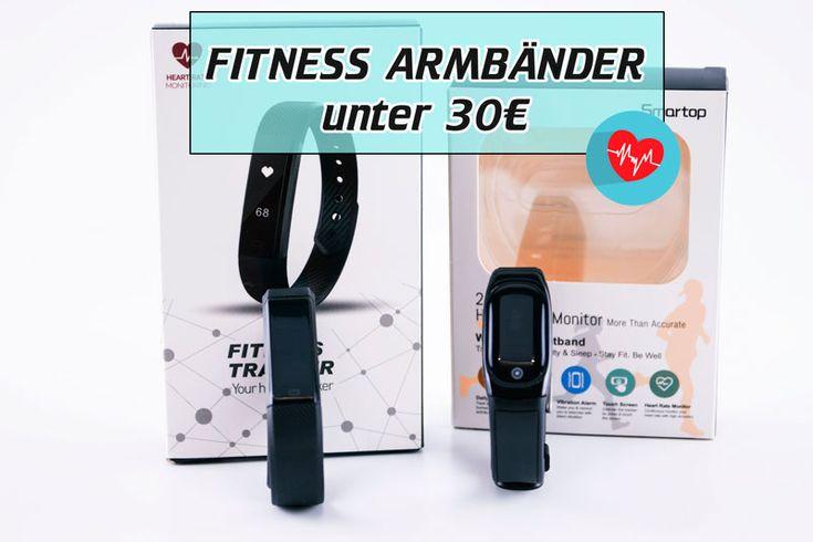 Günstige Fitness-Tracker unter 30€ - Susi und Kay Projekte