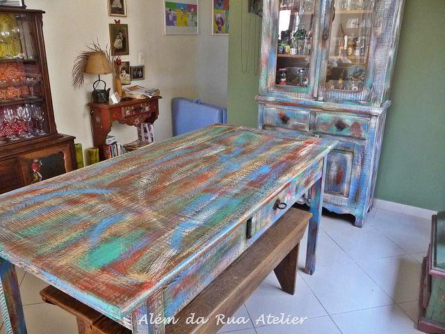 Pátina colorida em móveis de madeira | Flickr – Compartilhamento de fotos!