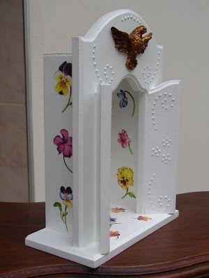 Bell'Arte - Arte em madeira e tecido: Oratório