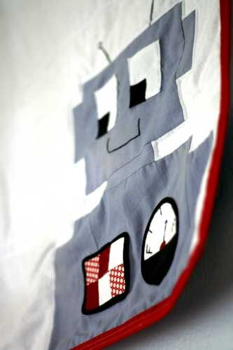 robot quilt directions, super cute, what boy wouldn't love this?