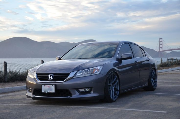 7-2013 Accord Sedan Velgen VMB5 Matte Gunmetal