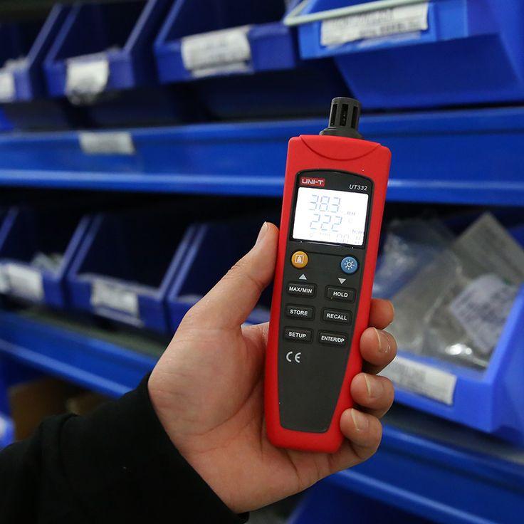 Uni-t UT331 UT332 Digital termo higrometro termometro temperatura umidade medidor de umidade Tester w / LCD Backlight & USB