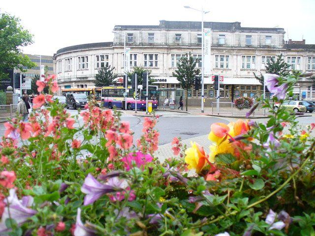 Swansea Railway Station, Swansea, Wales, United Kingdom