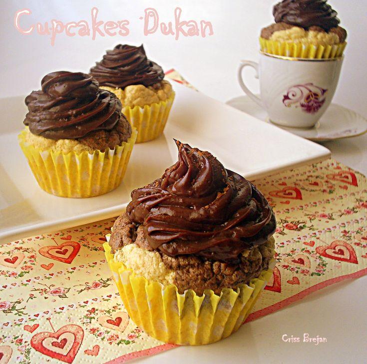 Arome si culori : Cupcakes cu ciocolata - Dukan