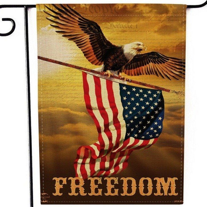 Check Out What I M Selling On Mercari Garden Flag New Eagle Freedom America Freedom Summer Flag American Eagle