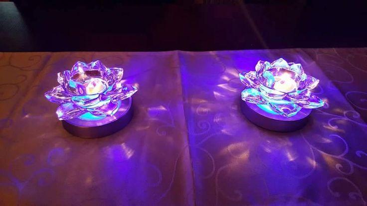 Duo Porte lampions et bougies à réchaud Nymphéa https://angeliquevandamme.partylite.fr/Shop/Product/87