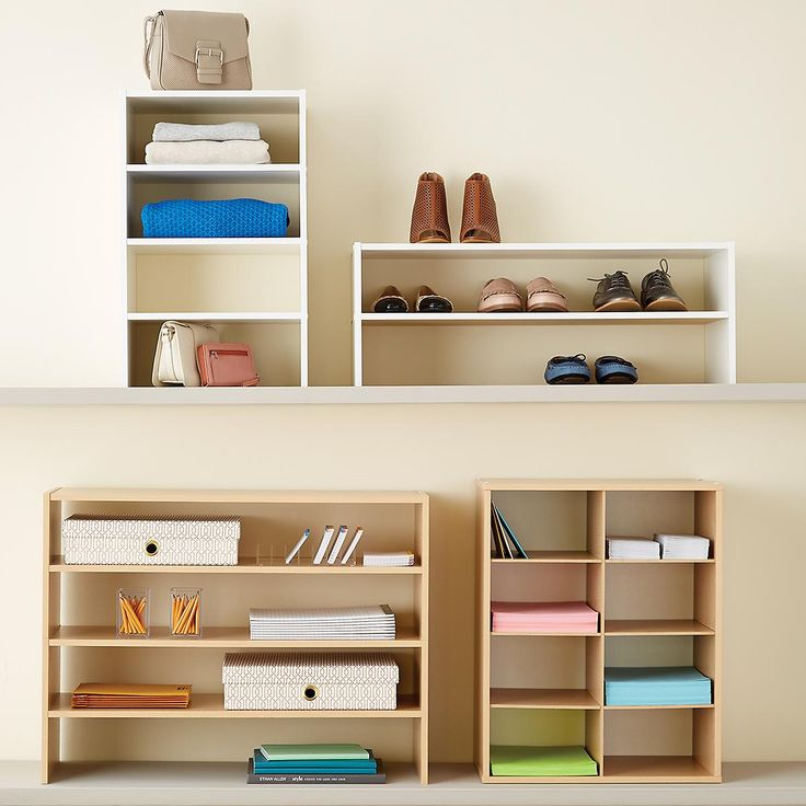 Elfa Custom Closet Amp Shelving System The Container Store 25+ best ideas about Container store closet on Pinterest ...