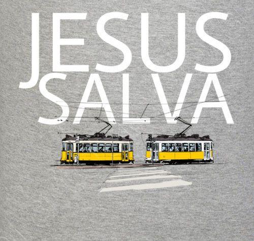 Jesús Salva. Jesus saves.