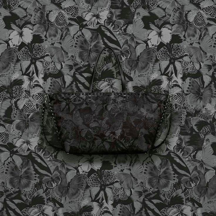 Valentino Rockstud Bag. Camobutterfly bag by Valentino. Shop Valentino garavani online at Satù!
