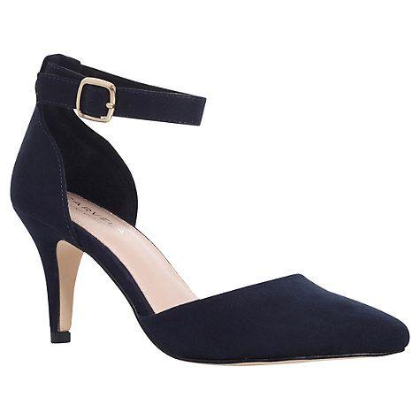 Buy Carvela Kandice Suedette Court Shoes Online at johnlewis.com