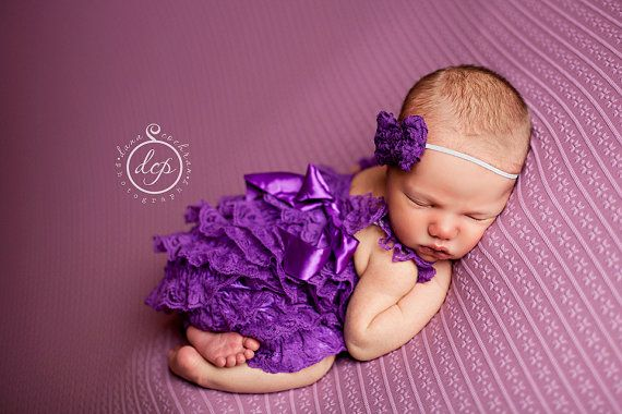 FALL BLOWOUT Purple Petti Lace Romper SET,Petti Romper,Baby Lace Romper,Birthday Outfit-Lace Petti Romper.Newborn Coming Home on Etsy, $19.95