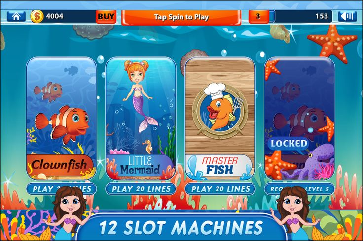 Take on a new adventure as you tour the Mystic Sea with the Cash Fishing Slots Game. Hear the enchanting Mermaid Song and be part of the Underwater Story. Play your luck with the Sharktastic casino experience.  What are you waiting for? Download Cash Fishing Slots Game and start your Sea Life adventure now.