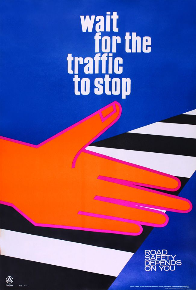 RoSPA Vintage Road Safety Posters