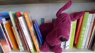 un bassotto con ogni libro! qui sono a casa mia su ottimomassimo