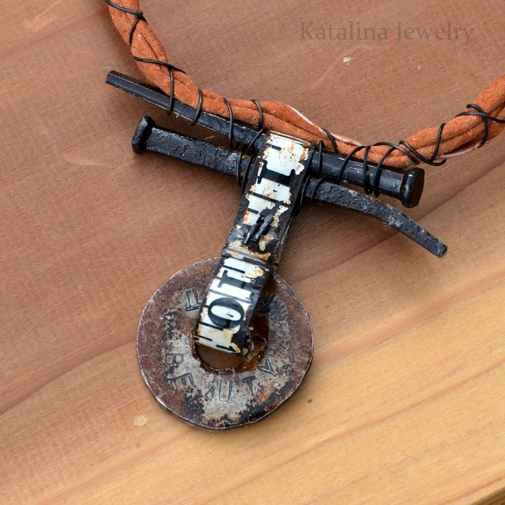 Katalina Jewelry: Enhancing and Protecting a Rusted Metal Patina