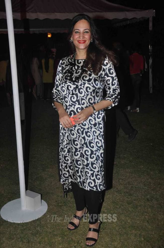Rakshanda Khan at the launch of Marks & Spencer's spring/summer collection. #Bollywood #Fashion #Style #Beauty
