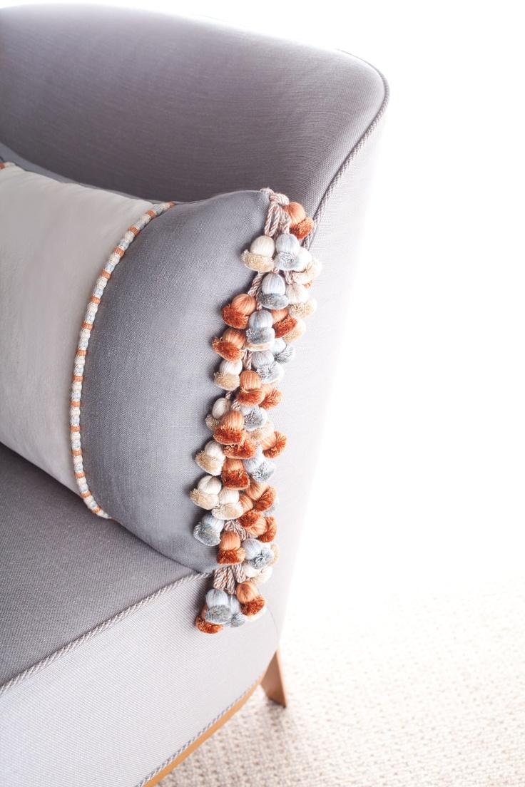 Samuel And Sons Passementerie Trims Braid Amp Tie Backs Pillows Bolster Cushions Decorative Pillows