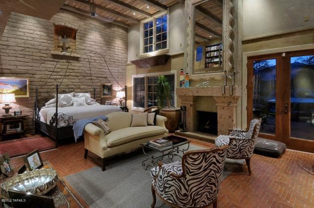 Amazing rustic master suite