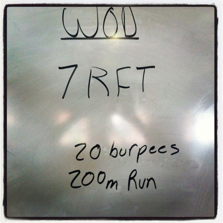 crossfit burpee and sprints wod