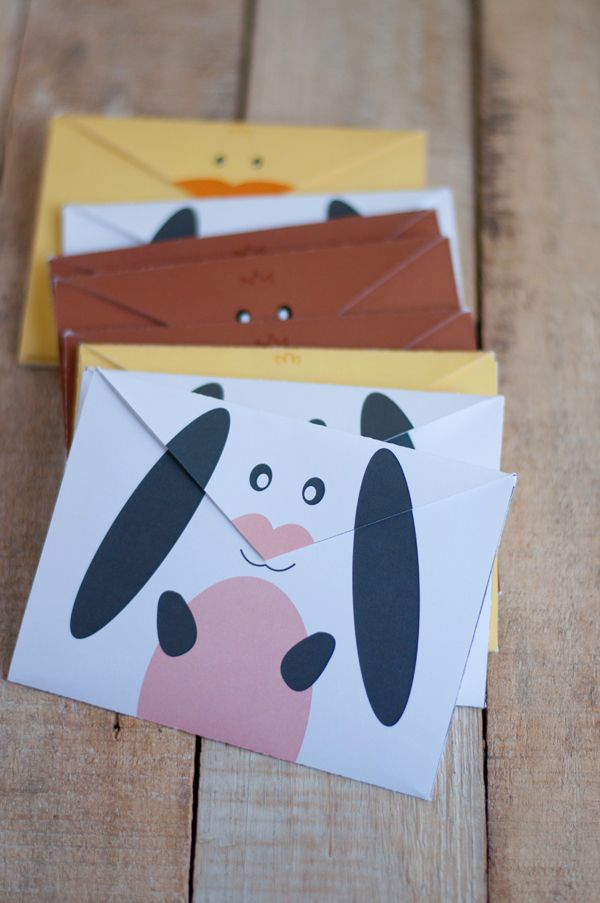 Free Printable Envelopes for Spring   this heart of mine