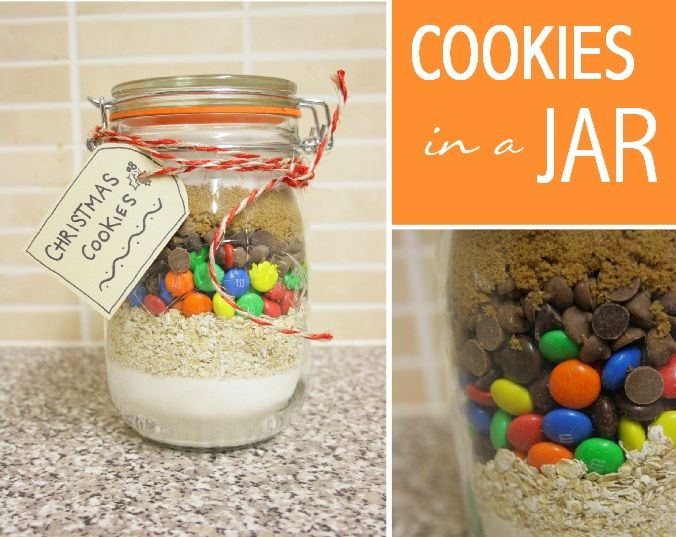 Dreaming of the Country : DIY Gifts: Cookies in a Jar
