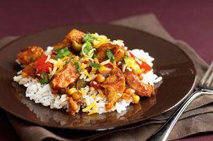 Slow-Cooker Tex-Mex Chicken Recipe - Healthy Living Kraft Recipes