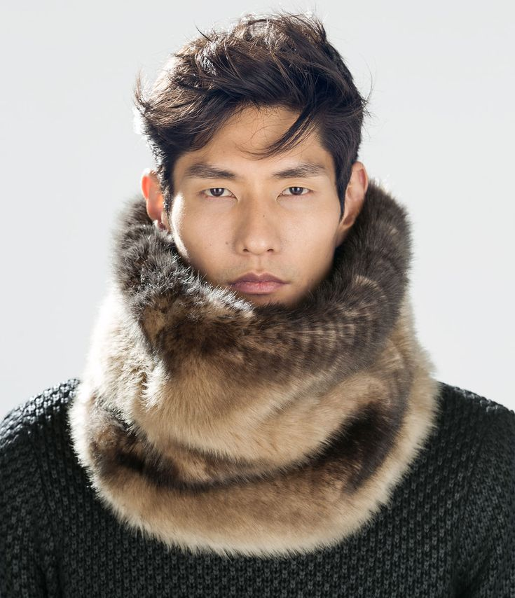 REVERSIBLE FUR COLLAR-Scarves and Foulards-Accessories-MAN | ZARA United States